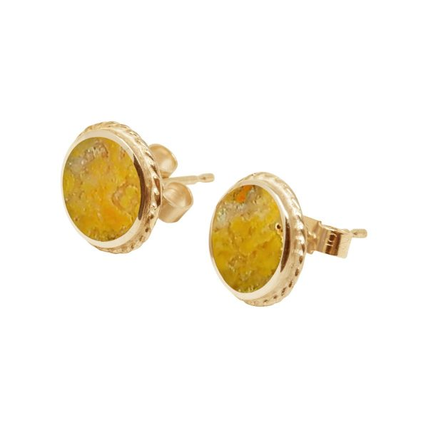 Yellow Gold Bumblebee Jasper v