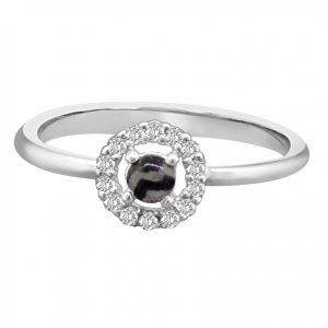 Blue John and Diamond Ring 3