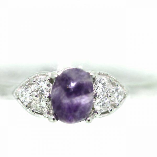 Diamond and blue john ring 2